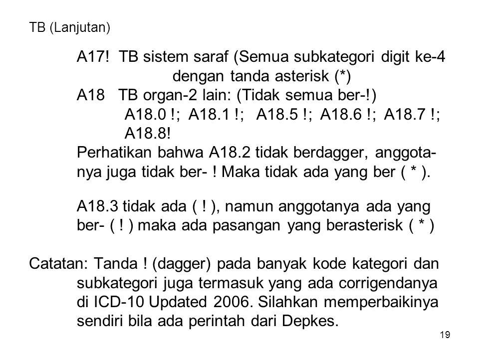 19 TB (Lanjutan) A17.
