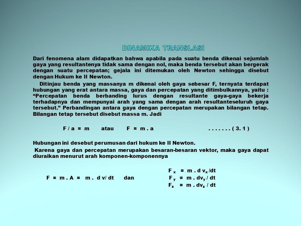 Jika dari persamaan (3.