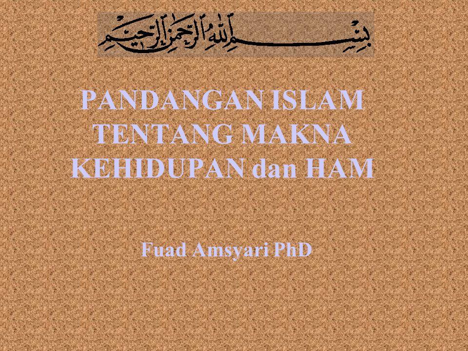 Agama Islam adalah: Prinsip ttg Kehidupan serta Tuntunan Cara Hidup dari Allah swt yang diajarkan ke manusia melalui RasulNya.