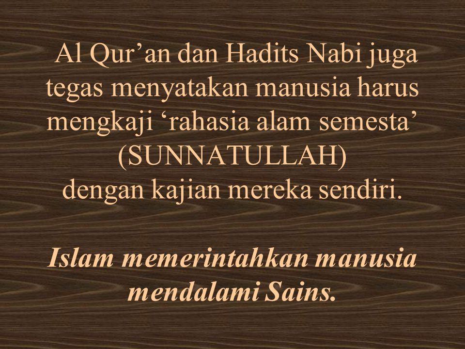 SUBSTANSI AL QUR'AN & HADITS: 1.Informasi tentang Allah SWT 2.