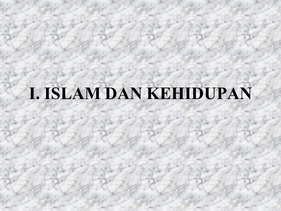 ISI: 1. ISLAM DAN KEHIDUPAN 2. MASALAH UMAT DI INDONESIA 3. MAKNA HAM DALAM ISLAM