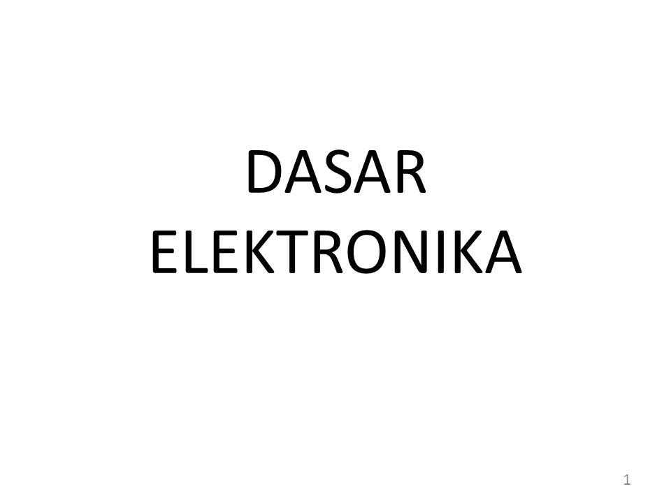 DASAR ELEKTRONIKA 1