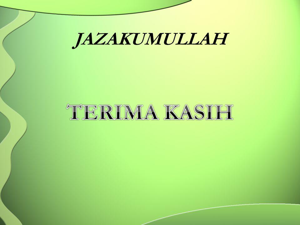 JAZAKUMULLAH