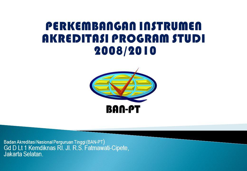 Badan Akreditasi Nasional Perguruan Tinggi (BAN-PT ) Gd D Lt 1 Kemdiknas RI.
