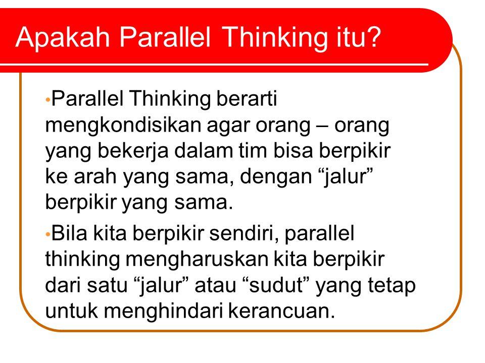 Pemikiran yang jernih dan baik pada akhirnya akan menguntungkan bisnis kita karena kita memilih dari hasil pemikiran yang terbaik.