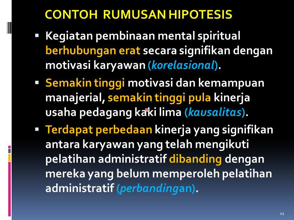  Kegiatan pembinaan mental spiritual berhubungan erat secara signifikan dengan motivasi karyawan (korelasional).