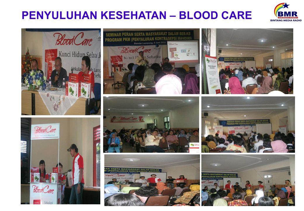 PENYULUHAN KESEHATAN – BLOOD CARE