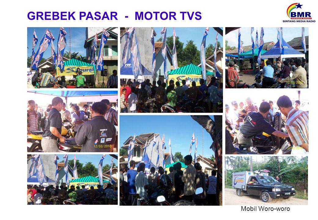 Mobil Woro-woro GREBEK PASAR - MOTOR TVS