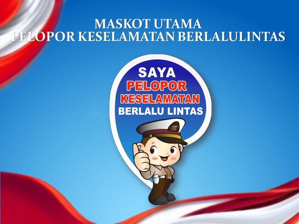 MASKOT POLRI & TNI PELOPOR KESELAMATAN BERLALULINTAS