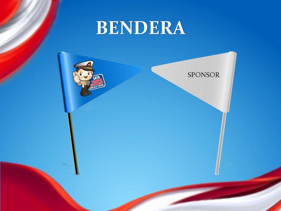 BENDERA SPONSOR