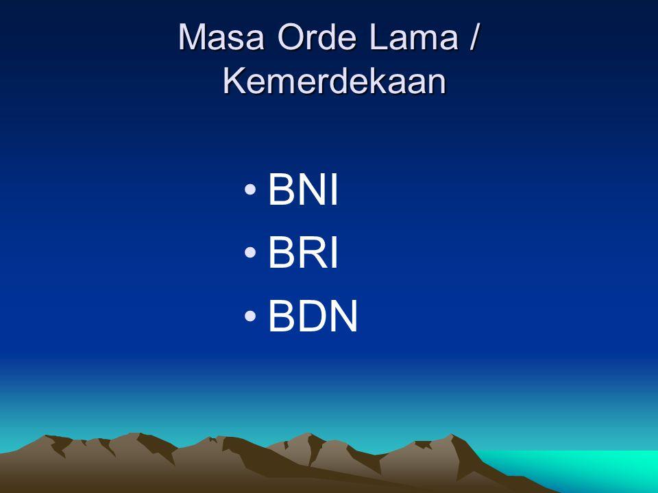 Bank Negara Indonesia Dengan Perpu No.