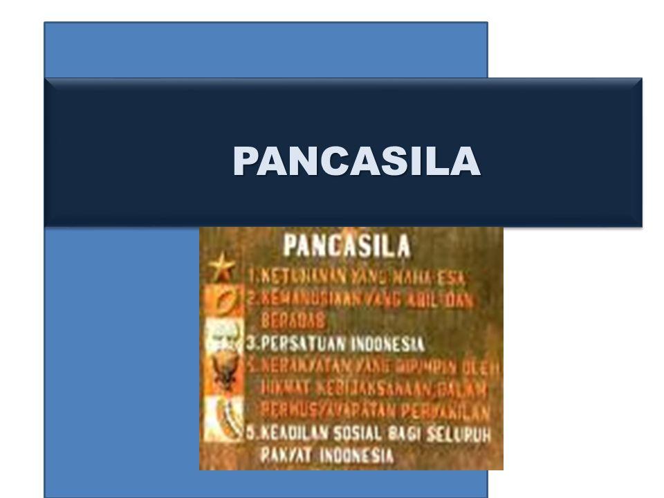PANCASILA PANCASILA