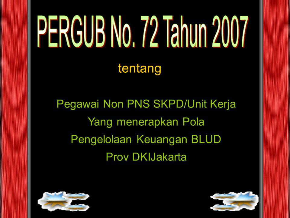 Pegawai Non PNS SKPD/Unit Kerja Yang menerapkan Pola Pengelolaan Keuangan BLUD Prov DKIJakarta tentang