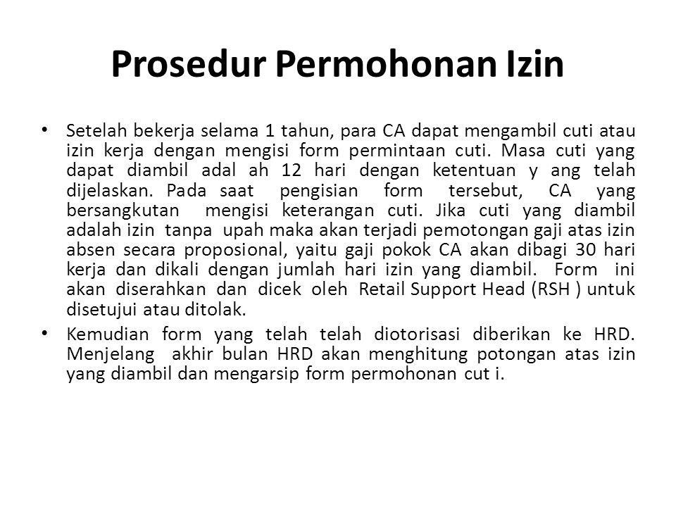 Memvalidasi permohonan izin