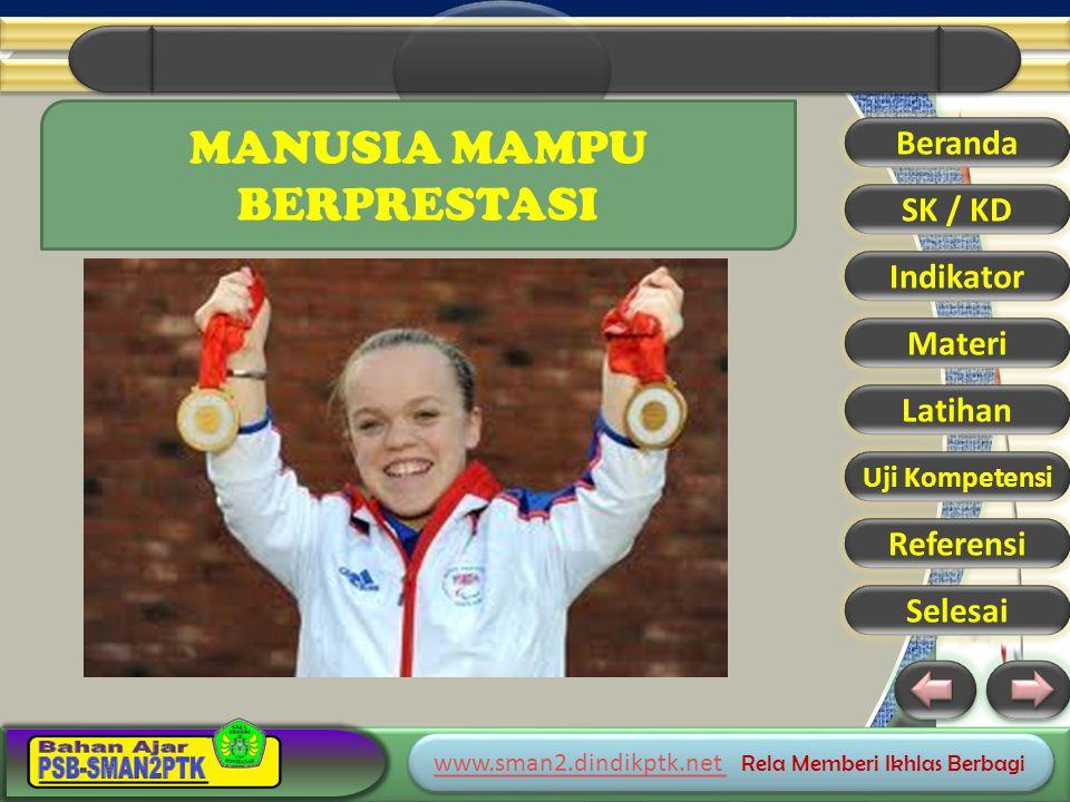 www.sman2.dindikptk.net www.sman2.dindikptk.net Rela Memberi Ikhlas Berbagi www.sman2.dindikptk.net www.sman2.dindikptk.net Rela Memberi Ikhlas Berbagi Beranda SK / KD Indikator Materi Latihan Uji Kompetensi Referensi Selesai MANUSIA MAMPU BERPRESTASI
