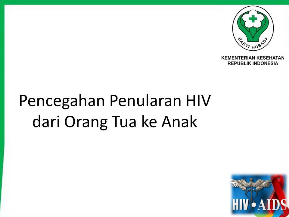 Pencegahan Penularan HIV dari Orang Tua ke Anak
