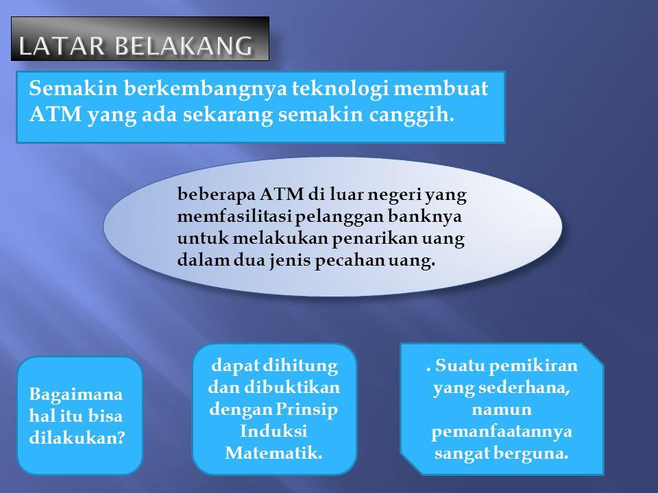Semakin berkembangnya teknologi membuat ATM yang ada sekarang semakin canggih. beberapa ATM di luar negeri yang memfasilitasi pelanggan banknya untuk