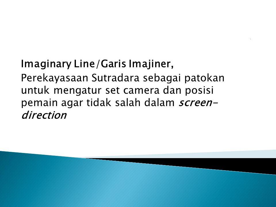 Imaginary Line/Garis Imajiner, Perekayasaan Sutradara sebagai patokan untuk mengatur set camera dan posisi pemain agar tidak salah dalam screen- direction