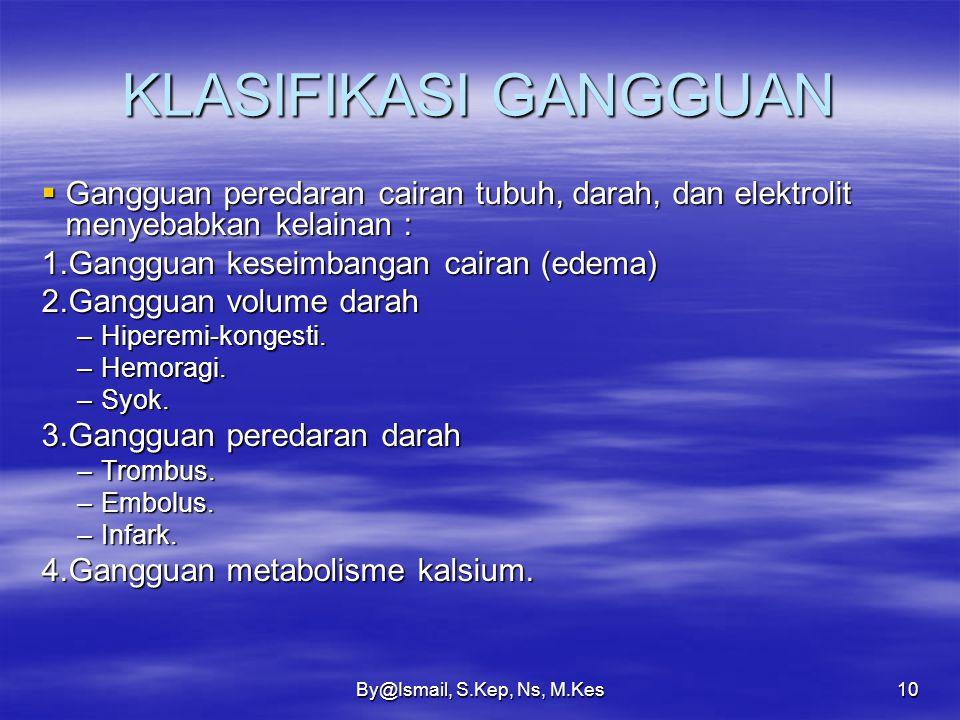 By@Ismail, S.Kep, Ns, M.Kes9 PENDAHULUAN  Meskipun darah terletak dalam saluran tertutup, tetapi selalu terdapat pertukaran zat melalui endotel kapil