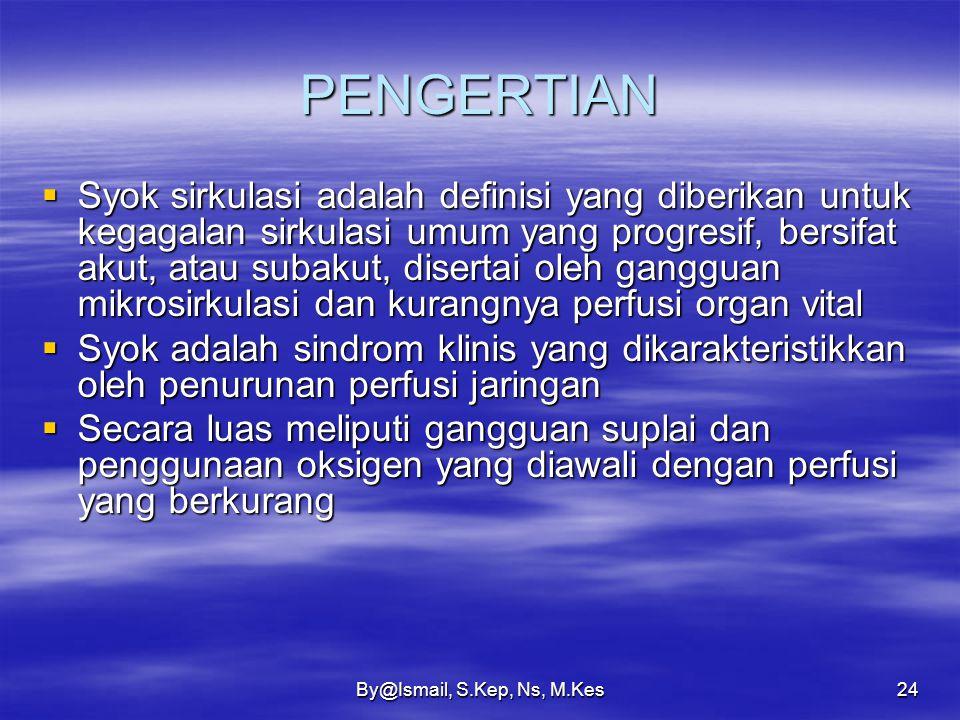 By@Ismail, S.Kep, Ns, M.Kes23 ETIOLOGI 2.Kelainan vaskular  Hereditary hemorrhage teleangictasia (Rendu-Weber-Osler disease) yaitu penyakit herediter