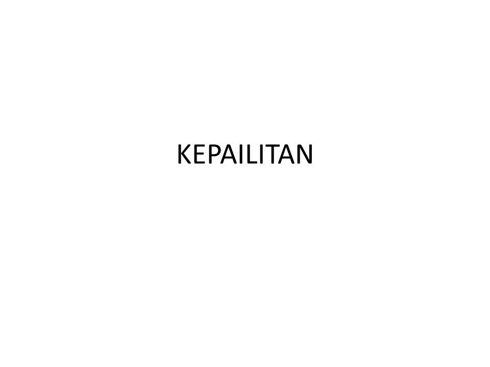 1.PENGERTIAN 1.MENURUT UU 37/2004 TTG KEPAILITAN DAN PKPU:KEPAILITAN ADALAH SITA UMUM ATAS SEMUA KEKAYAAN DEBITUR OLEH KURATOR DI BAWAH PENGAWASAN HAKIM PENGAWAS; 2.FRED B.G.TUMBUHAN:SITA UMUM SELURUH KEKAYAAN DEBITUR U/ KEPENTINGAN KREDITUR; 3.J.B.HUIZINK:SITA UMUM BARANG2 DEBITUR UNTUK KEPENTINGAN SEMUA KREDITUR SECARA BERSAM-SAMA; 4.SUDARGO GAUTAMA:SITAAN MENYELURUH ATAS SEGALA HARTA BENDA SI PAILIT; 5.MUNIR FUADY:SITAAN UMUM ATAS DAN TERHADAP HARTA DEBITUR AGAR DICAPAI PERDAMAIAN ATAU AGAR HARTA TSB DAPAT DIBAGIKAN SECARA ADIL DAN PROPORSIONAL.