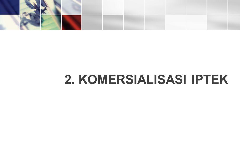 2. KOMERSIALISASI IPTEK 14