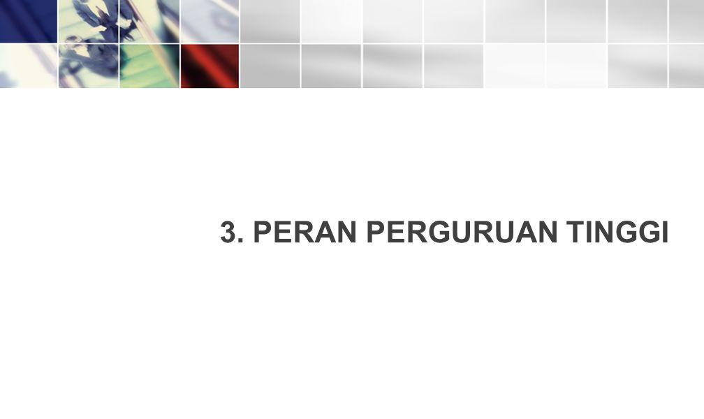3. PERAN PERGURUAN TINGGI 19
