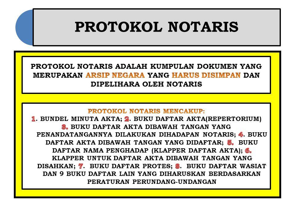 PROTOKOL NOTARIS