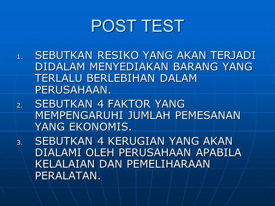 POST TEST 1.