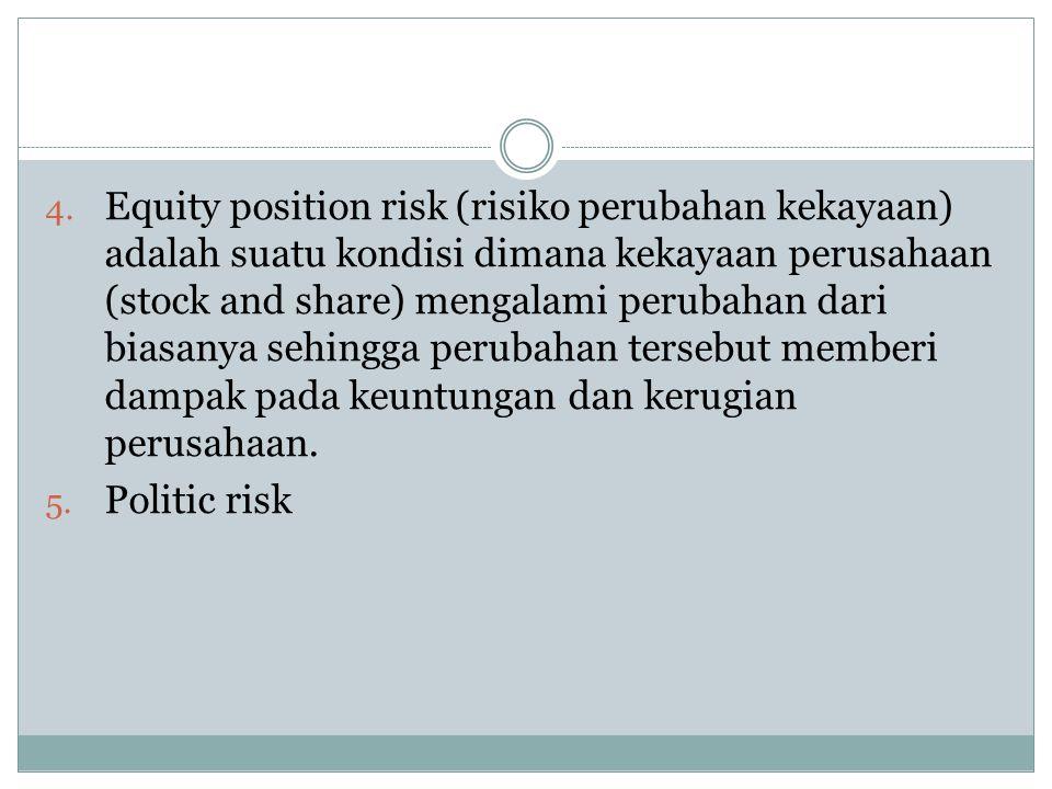 Hubungan foreign exchange Risk dan perbankan Perbankan adalah lembaga mediasi yang menghubungkan mereka yang kelebihan dana (Surplus) dan mereka yang kekurangan dana (deficit) Faktor 2 yang meyebabkan perbankan foreign exchange risk tsb: 1.