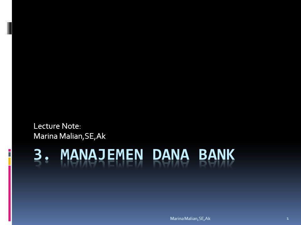 Lecture Note: Marina Malian,SE,Ak 1