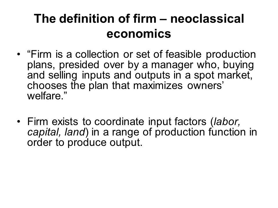 Kekuatan pendekatan kontrak dalam menjelaskan: why firm emerges.