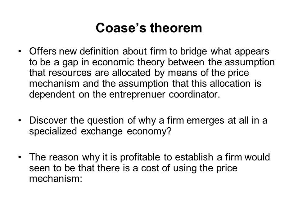 Teori Principal-Agent Managerial theory of the firm Teori ini bertujuan untuk menjelaskan fenomena konflik kepentingan antara aktor ekonomi disebabkan oleh asimetri dalam informasi (keterbatasan observasi).