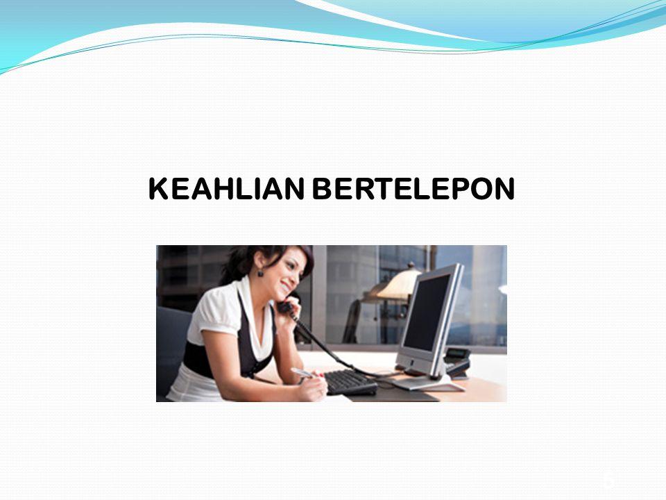 5 KEAHLIAN BERTELEPON