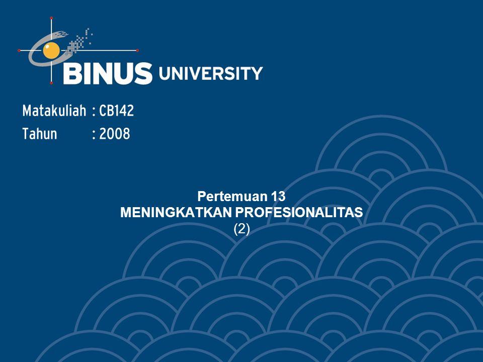Bina Nusantara 4.