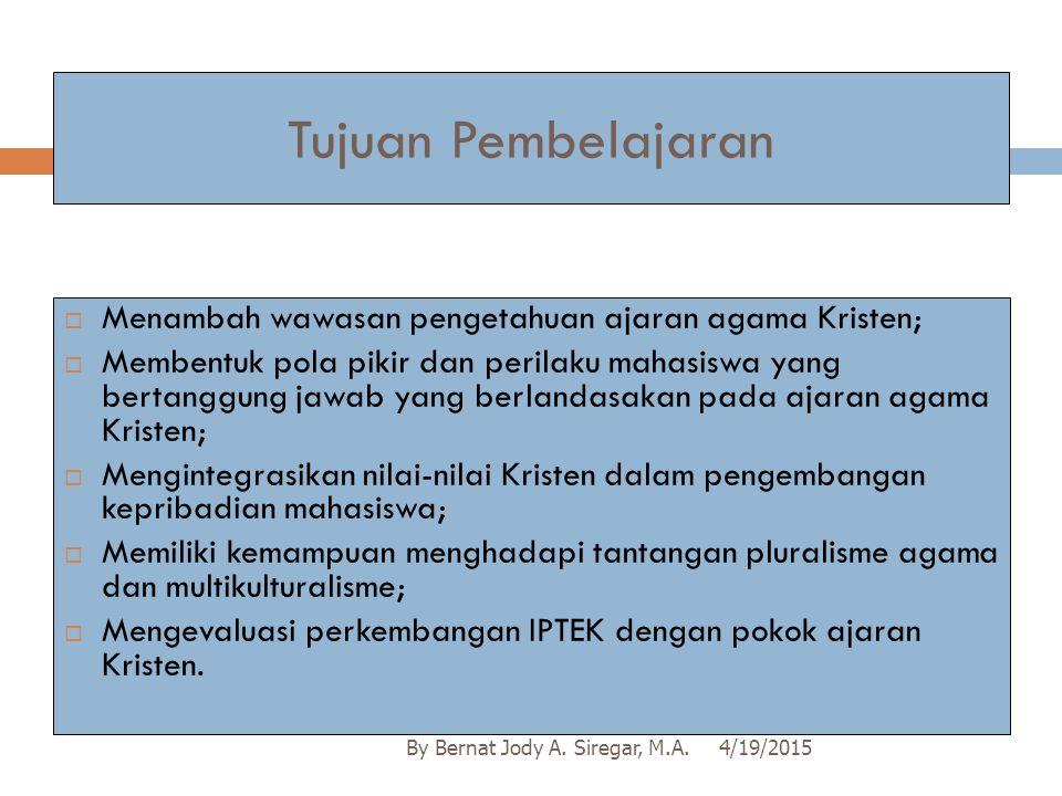 POKOK BAHASAN II... Indikator 4/19/2015By Bernat Jody A.