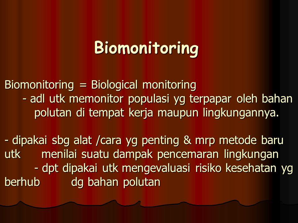 Dikenal 3 jenis monitoring : Dikenal 3 jenis monitoring : 1.