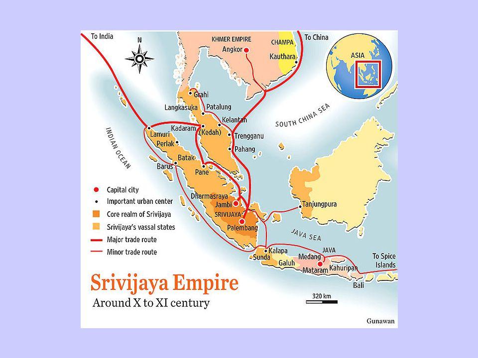 Faktor yang mendorong munculnya Sriwijaya sebagai kerajaan besar di Asia Tenggara Letaknya yang sangat strategis di jalur perdagangan.
