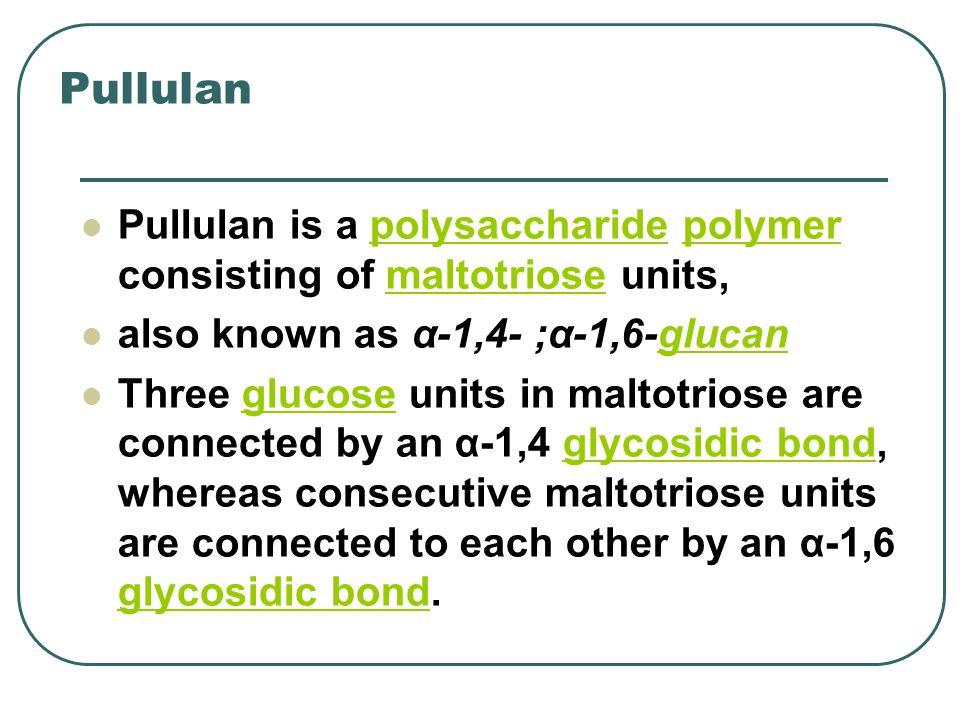Pullulan Structure