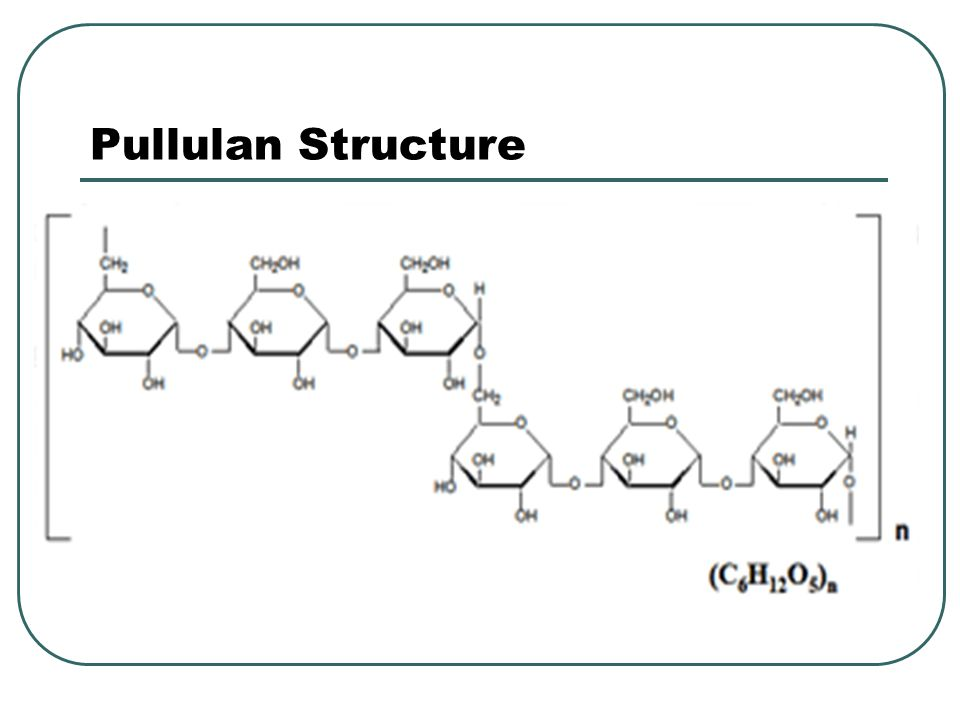 Structure The repeating unit of the polymer is a tetrasaccharide which consists of two residues of D-glucose and one of each residues of L- rhamnose and D-glucuronic acid.glucose rhamnoseglucuronic acid The tetrasacharide repeat has the following structure: [D-Glc(β1→4)D-GlcA(β1→4)D-Glc(β1→4)L- Rha(α1→3)]n.