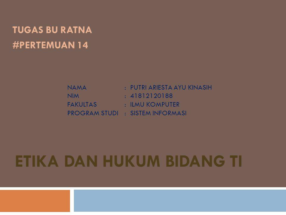  FAKTA CYBERCRIME DI INDONESIA Kasus-kasus Cybercrime yang ada di Indonesia setidaknya ada tiga jenis berdasarkan modusnya, yaitu: 1.Pencurian comer kredit.