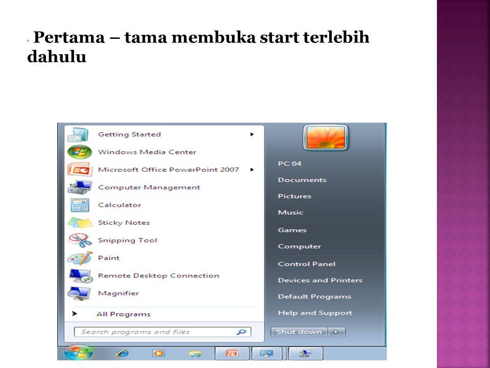 Lalu klik Control Panel