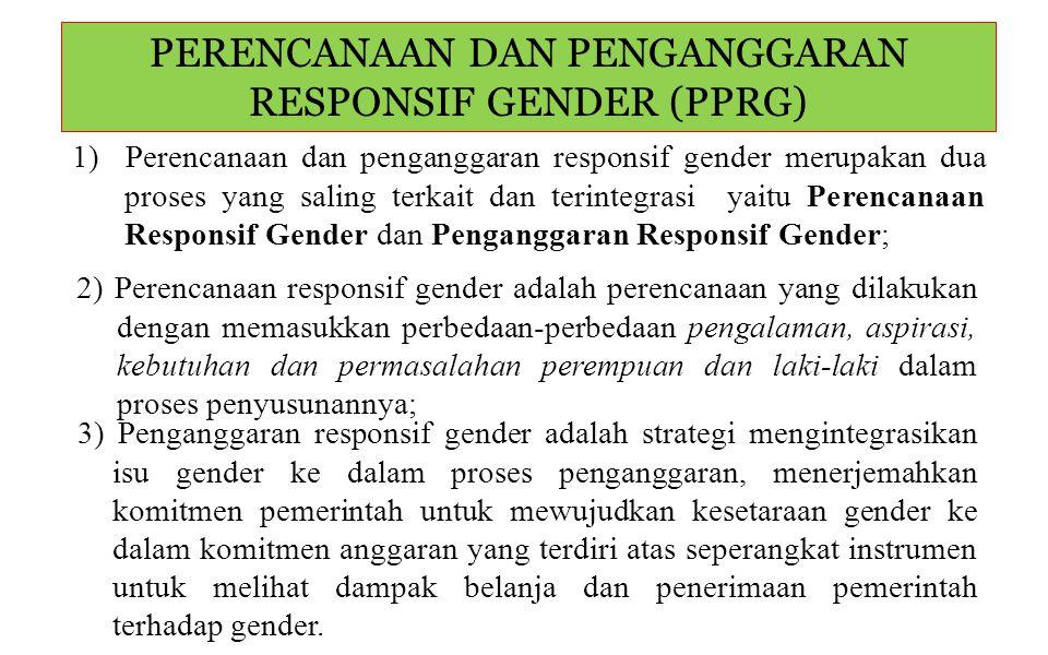 Alat dan proses yang dirancang untuk memfasilitasi suatu analisis gender dalam penyusunan anggaran negara dan alokasi sumber daya.