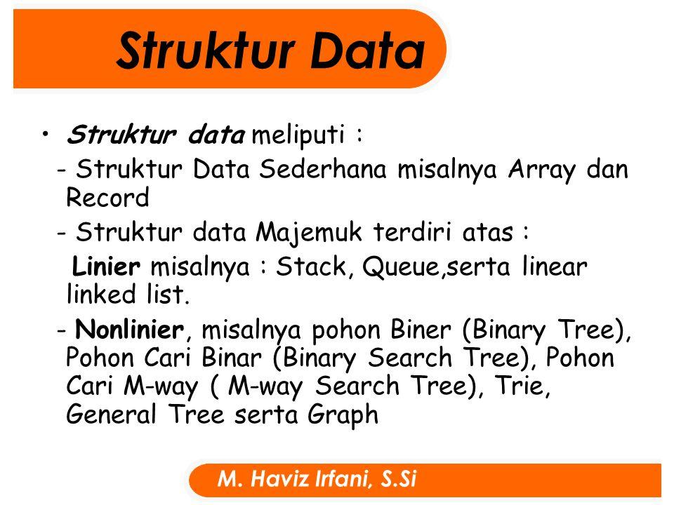 Procedure Tampil(nil:indeks); Begin write('data X dari indeks ke :');readln(awal); write('sampai X indeks ke :');readln(akhir); write('data Y dari indeks ke :');readln(awal1); write('sampai Y indeks ke :');readln(akhir1); write('data Z dari indeks ke :');readln(awal2); write('sampai Z indeks ke :');readln(akhir2); for x:= awal to akhir do for y:= awal1 to akhir1 do for z:= awal2 to akhir2 do writeln('nil[ ',x,',',y,',',z,']=',nil[x, y, z]); { x = awal..