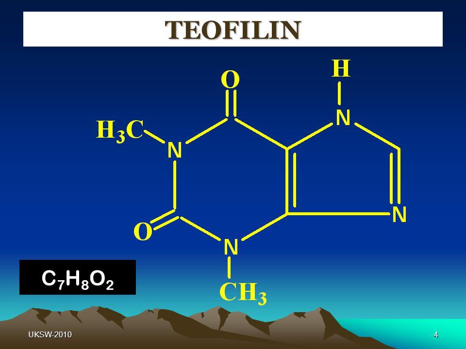 4 TEOFILIN C7H8O2C7H8O2