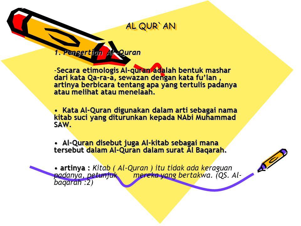 AL-QUR`AN