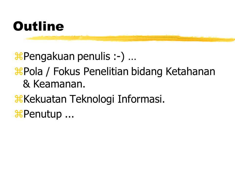 Teknologi Pertahanan Onno W. Purbo Computer Network Research Group Institut Teknologi Bandung onno@itb.ac.id