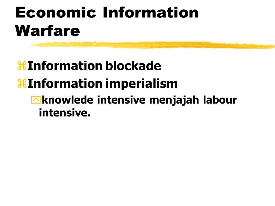 Hacker Warfare zAttacks on computer networks melalui security hole zIntent of an attack pelumpuhan sistem informasi, random data error, pencurian info