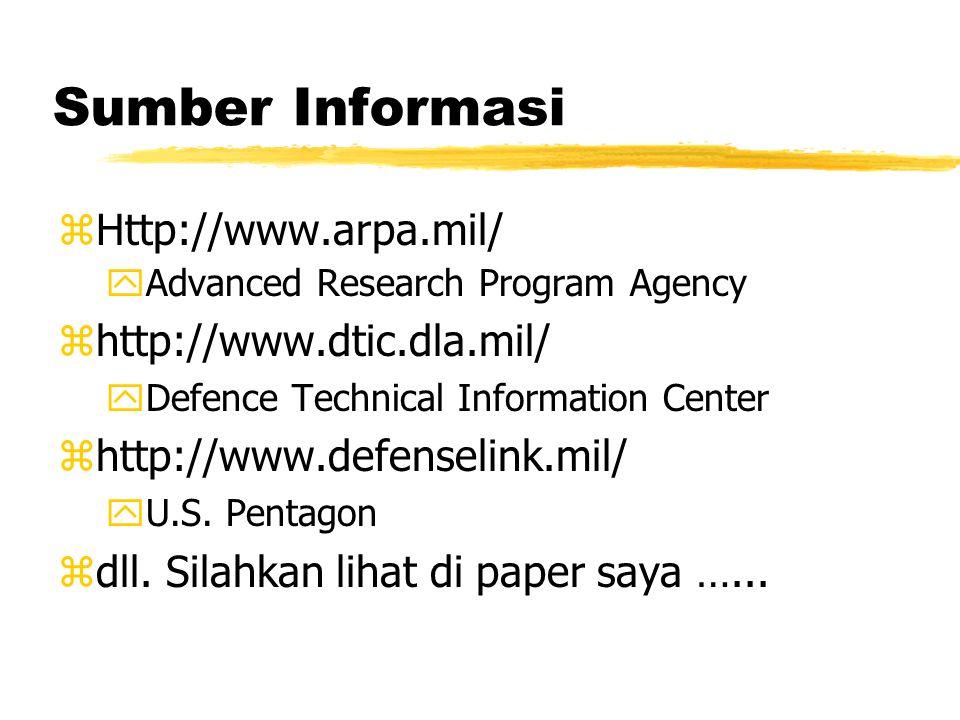 Modal penulis.. zSaya bukan ahli bidang ketahanan & keamanan. zSaya hanya staff di ITB. zBidang saya adalah teknologi informasi khususnya Internet. zM