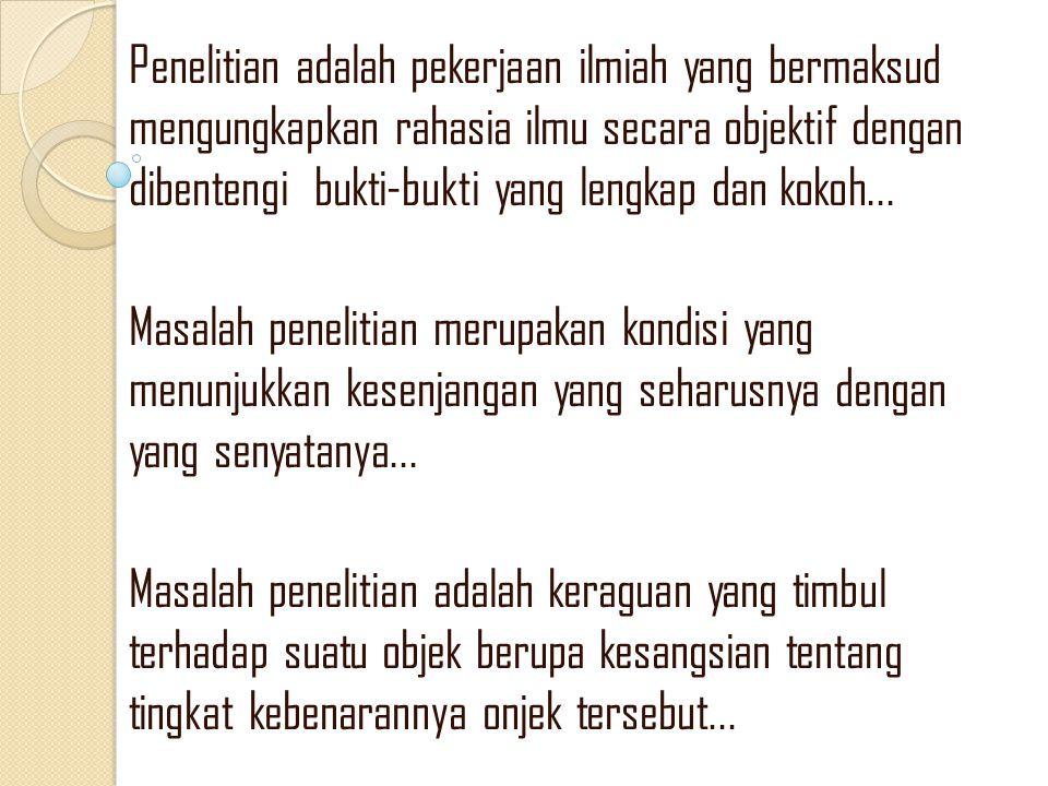 MANFAAT PENELITIAN KEPUSTAKAAN 1.
